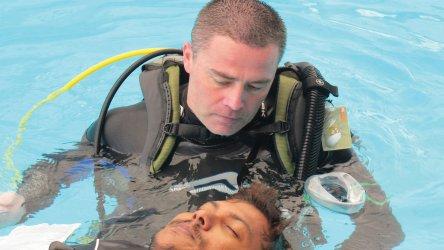 Aussie Divers Phuket PADI IDC Instructor Darren Logan