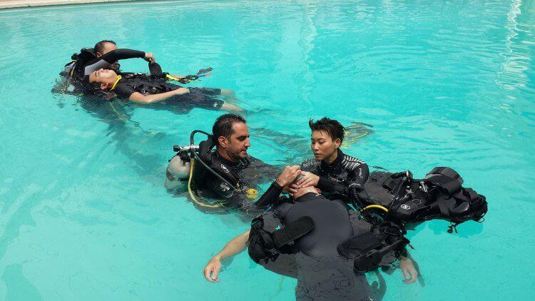 PADI IDC Phuket Aussie Divers Rescue