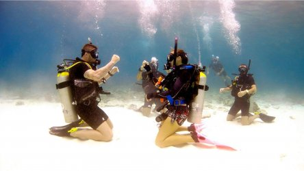 PADI Open Water Instructor Scuba Diving Phuket