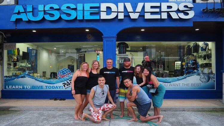 Aussie Divers Phuket IDC Best Thailand
