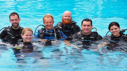 Aussie Divers Phuket Instructor Confined Pool IDC