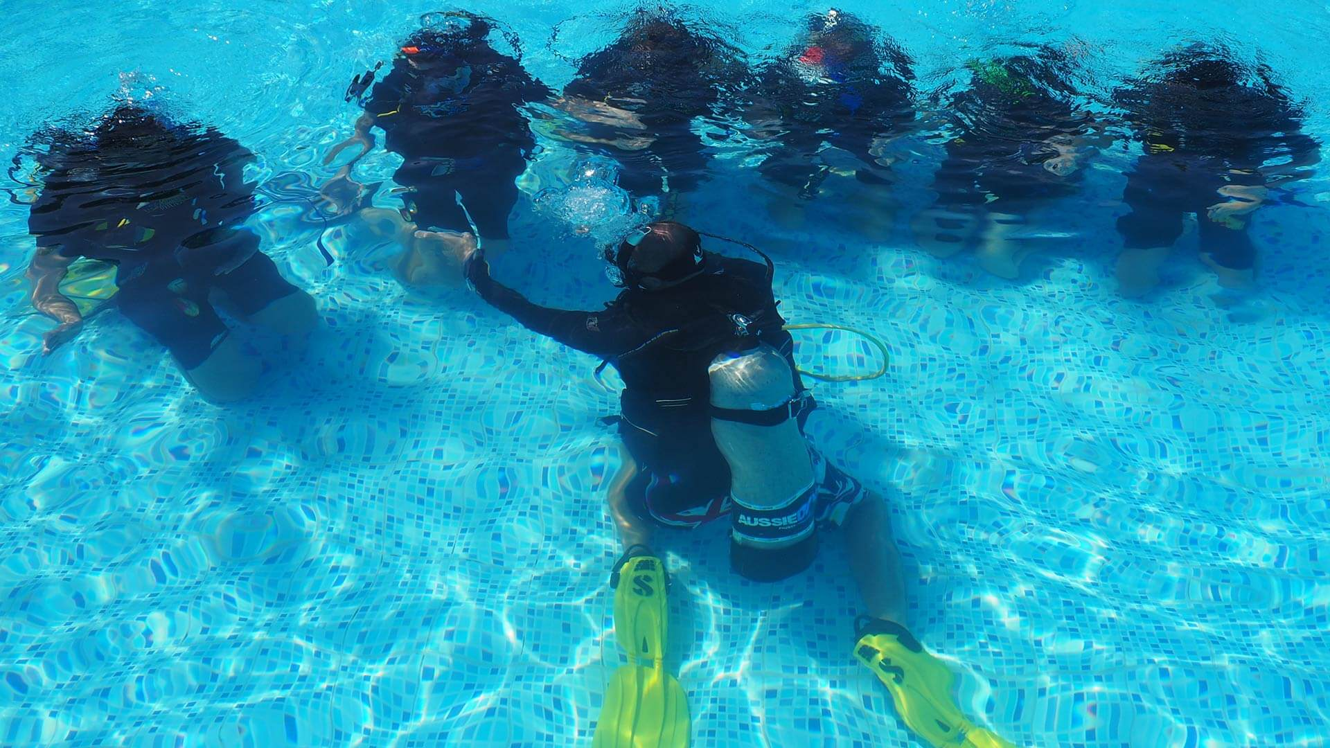 Why is control important when you are a dive professional.
