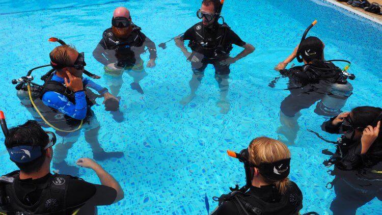 PADI Open Water Course IDC Aussie Phuket Scuba Diving
