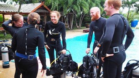 Aussie IDC Phuket Divers PADI Thailand Instructor