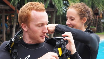 PADI IDC Aussie Divers Phuket Thailand