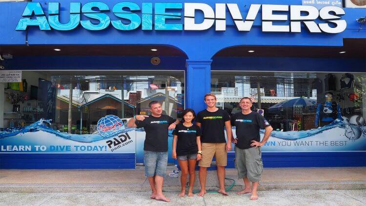 IDC Aussie Divers Phuket PADI Instructor Best