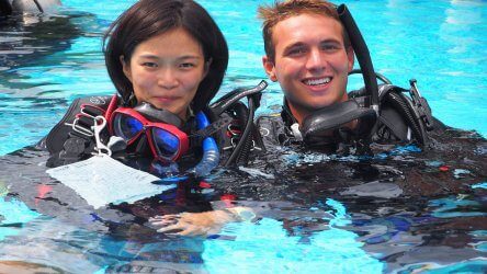 PADI Instructor IDC Aussie Divers Phuket Best