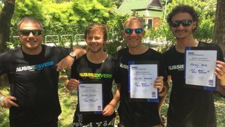 Aussie Divers Padi IDC Phuket Best Instructors