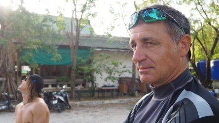 Darren Gaspari PADI Course Director Phuket IDC