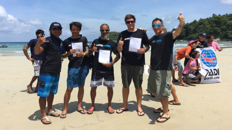 Phuket IDC PADI Instructor Best