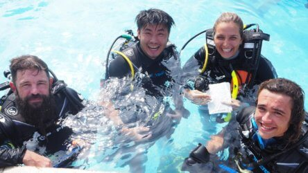 Phuket PADI IDC Aussie Divers Best Instructor