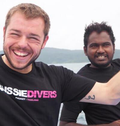 Best IDC Phuket Aussie Divers PADI