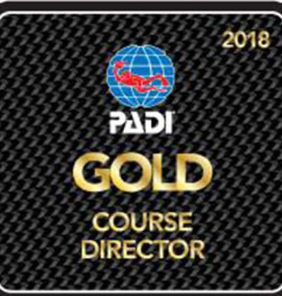 Gold Course Director Darren Gaspari Aussie Divers Phuket