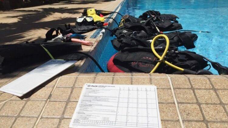 PADI IDC Aussie Divers Phuket Confined Water