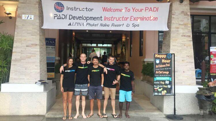Aussie Divers Phuket IDC Group