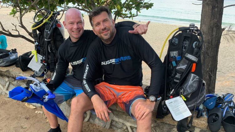 Aussie Divers Phuket IDC Instructor Exams