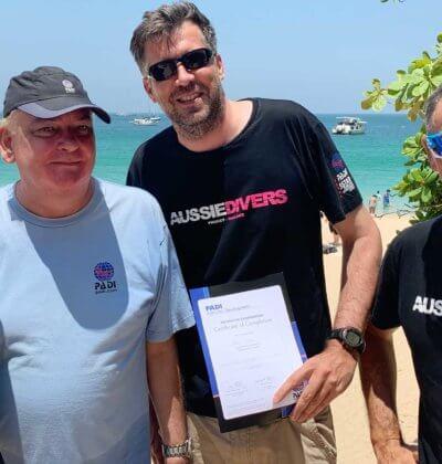 Aussie Divers Phuket IDC Nai Harn each