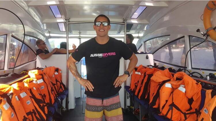 Aussie Divers Phuket Rocky Divemaster Boat