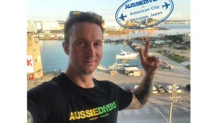 Aaron PADI Divemaster Okinawa Japan Aussie Divers