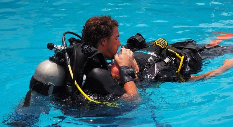 IDC PADI Rescue Aussie Divers Phuket
