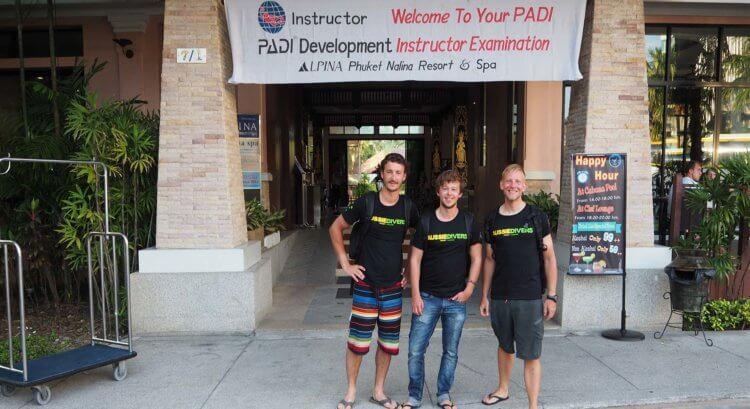 PADI IE Day Aussie Divers Phuket