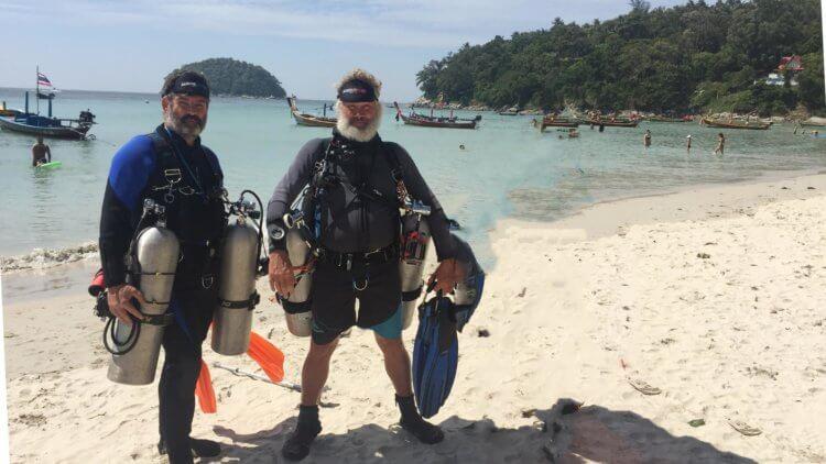 PADI Sidemount Specialty Course Aussie Divers Phuket