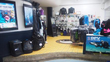 Equipment Shop Aussie Divers Phuket