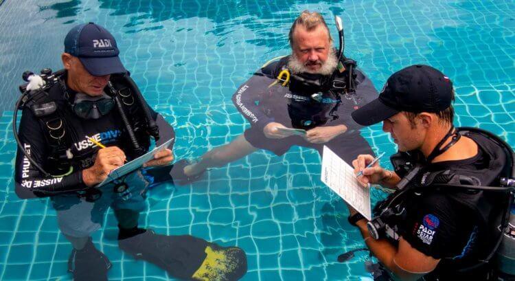 PADI IDC Pool Training with Aussie Divers Phuket