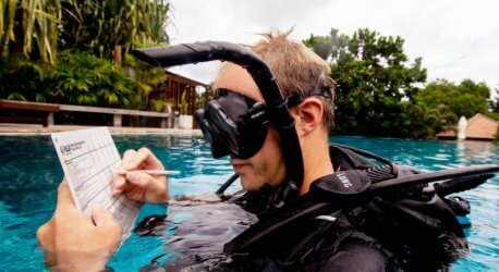 PADI Staff Instructor Tom Aussie Divers Phuket