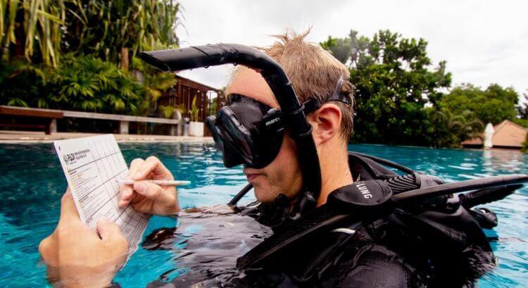 PADI Staff Instructor Tom Aussie Divers Phuket