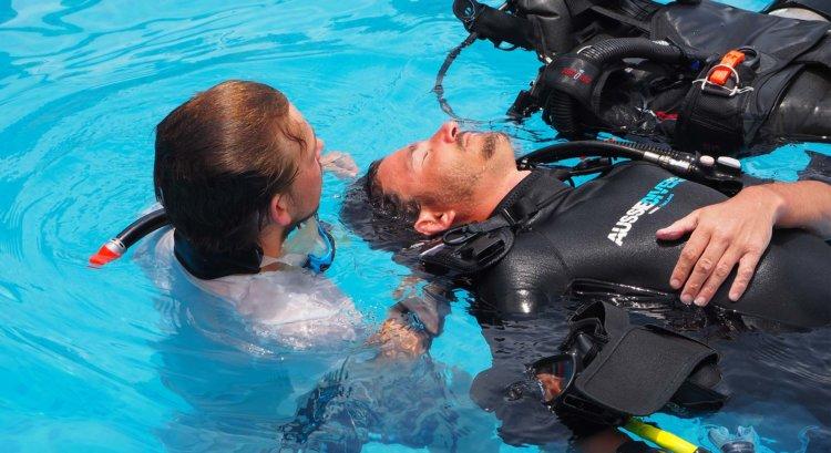 Rescue IDC PADI Aussie Divers Phuket