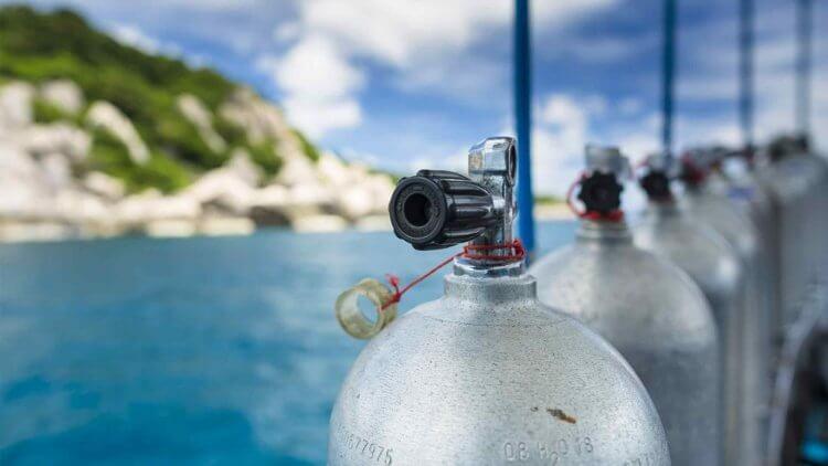 Scuba Cylinders Racha Yai Aussie Divers