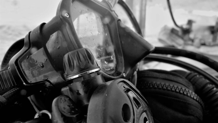 Scuba Mask and Regulator Aussie Divers